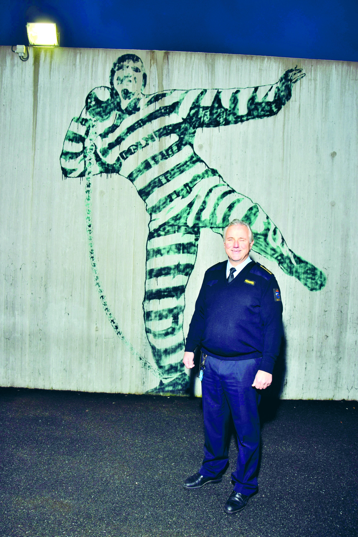 Are Høidal driver Norges  mest moderne fengsel. (Foto: Tore Letvik)