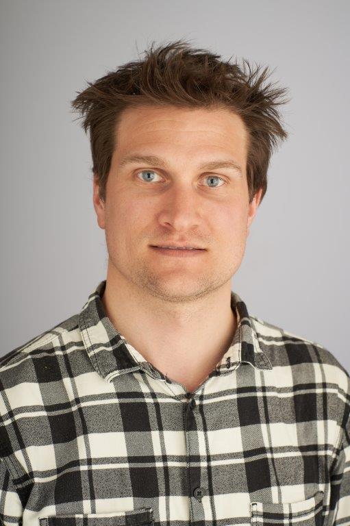 Forsker Lasse Eika. Foto: SSB